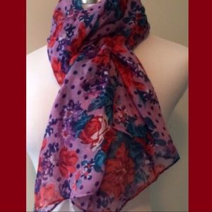 Accessories - Floral & Dots SCARF